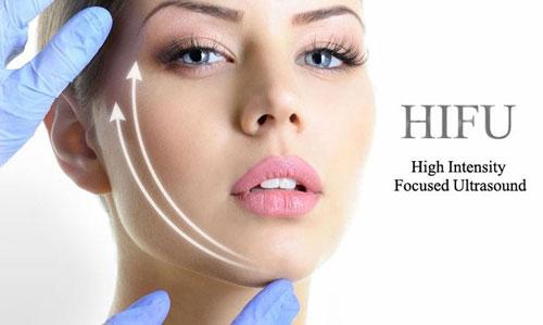tratament facial cu HIFU