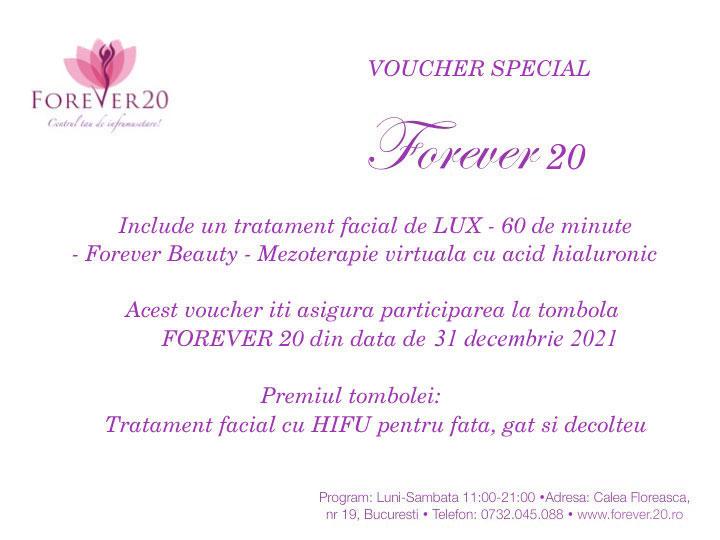 voucher card special beauty